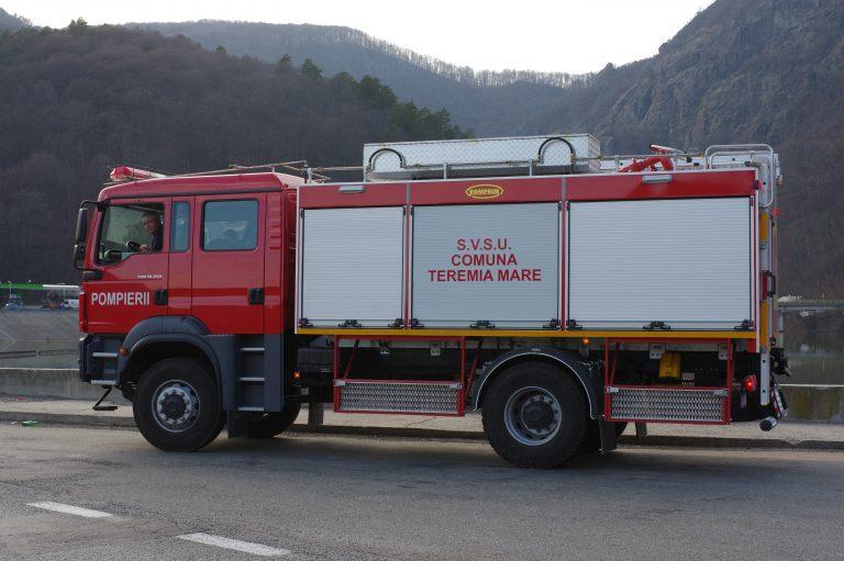 Livrare autospecială de stins incendii către S.V.S.U. TEREMIA MARE